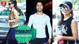Kareena Kapoor Amrita Arora and Varun Dhawan are giving us mid-week fitness goals