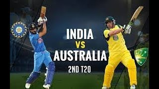 Live India Vs Australia 2nd T20 Match Live Online Score Update Today Live Score