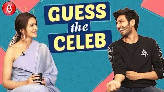 Luka Chuppi Kartik Aaryan and Kriti Sanon Play The CRAZY Game Of 'Guess The Celeb'