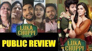 Luka Chuppi Public Review | Kartik Aaryan Kriti Sanon | Media Screening