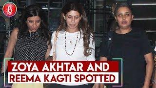 Zoya Akhtar and Reema Kagti Spotted Having Dinner With Shweta Bachchan Nanda