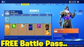 Watch How To Get Season 8 Battle Pass For Free In Fortni Video
