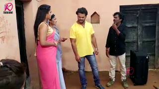 Bhojpuri Superstar Khesarilal Yadav Ke New Movie Diwanapan Ki Shooting - Live