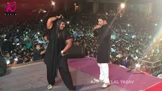 """Live Performance Khesari Lal Yadav Aur Dinesh Lal Yadav """" Nirahua """" Ek Sath"""