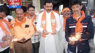 ભારતીય સેનાની કામગીરીને ચોટીલા BJP દ્વારા ઉજવણી