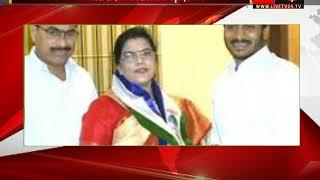 Andhra Pradesh- Big blow to Congress  Former Union Minister Kili Kriparani joined YSR Congress