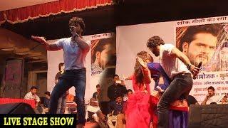 Khesari Lal Yadav का जबरदस्त डांस शो - पलंग करे चोय चोय | New Bhojpuri Hit Live Stage Show 2017