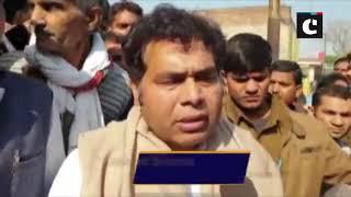 Mortal remains of slain IAF officer Pankaj Nauhar reaches his hometown in Mathura