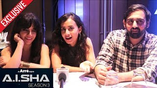 A.I.SHA My Virtual Girlfriend Season 3 | Exclusive Interview | Rashi Mal, Auritra Ghosh, Adesh