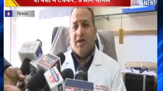 दो बसों में टक्कर, 9 लोग घायल || ANV NEWS SHIMLA - HIMACHAL PRADESH