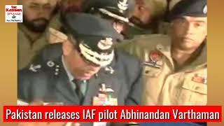 Pakistan releases IAF pilot Abhinandan Varthaman