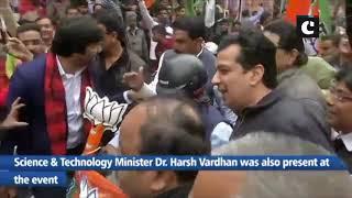Nirmala Sitharaman flags off 'Vijay Sankalp Bike Rally' from Delhi
