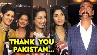 TV Celebs Thanks Pakistan For Releasing Wing Commander Abhinandan