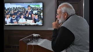 PM interacts with participants of Smart India Hackathon 2019 through video conference