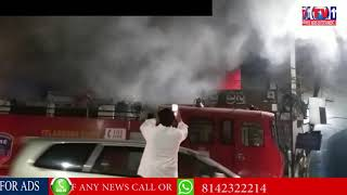 MAJOR FIRE ACCIDENT IN BALOON SHOP & UDIPI HOTEL AT ROAD NO 12 BANJARAHILLS