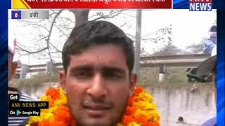 19 क्रिकेट टीम के खिलाड़ी अंशुल कंबोज का जोरदार स्वागत || ANV NEWS KARNAL - HARYANA