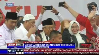 Ma'ruf Amin Buka Jalan Sehat TKD Banten