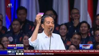 News Buzz: 3 Kartu Sakti Jokowi di Pilpres 2019