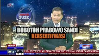 News Buzz: Pendukung Prabowo-Sandi Bersertifikat