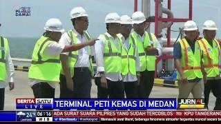 Pelabuhan Skala Internasional Kuala Tanjung Akan Diresmikan