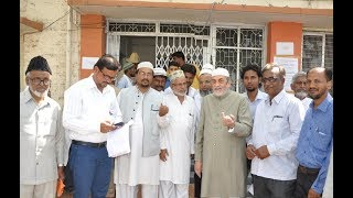 Karnataka Wakf Board inteqabat Ke Liye Aaj Gulbarga Mein Pheli Bar Raiye Dahi ( Voting ) Hui