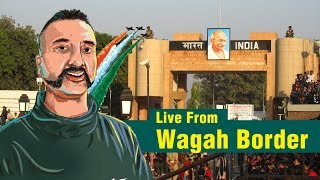 Live From Wagah Border | IAF pilot Abhinandan To Return Back Via Wagah Border (वाघा-अटारी सीमा)