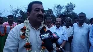 Inagurated many projects. # Bike Rally # BJD Remanda, Bargarh