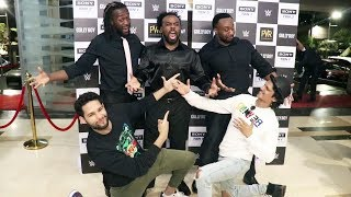MC Sher Siddhant Chaturvedi Host GULLY BOY Special Screening For WWE Superstars