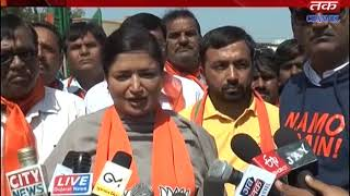 Jamnagar+Girsomnath+Palitana+Botad+Bhuj+Diu - Bike rally organized by BJP