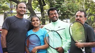 UNCUT - Tennis Buddies Promo Launch | India's First Tennis Based Film | Leander Paes