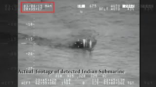 Indian submarine trying to enter Pak waters, claims Pakistan Navy
