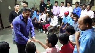 Salman Khan Went To A Blind School After The Bharat Shoot Wrap - Watch Video