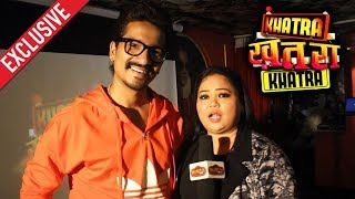 Khatra Khatra Khatra NEW SHOW | Bharti Singh & Harsh Limbachiyaa Exclusive  Interview | Colors Tv video - id 371a9d9a7434ce - Veblr Mobile