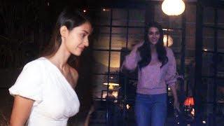 Disha Patani And Kriti Sanon Spotted At Soho House Juhu
