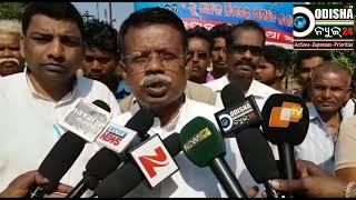 ଭାରତ ବନ୍ଦ ଡାକରା ସଫଳ, ନବରଙ୍ଗପୁର #  All India Strike, Nabarangpur