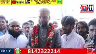 MILAP FURNITURE INAUGRATED BY  MP OF HYDERABAD BARRISTER ASADUDDIN OWAISI  AND KARWAN MLA JANAB KAUS