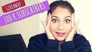 100K Subcribers Makeup Giveaway 2019 | Nidhi Katiyar