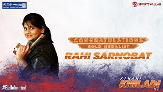 Kahani Khiladi Ki - Congratulations Rahi Sarnobat!