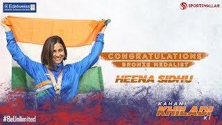 Kahani Khiladi Ki - Congratulations Heena Sidhu!