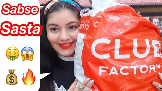 Club Factory Haul  Amazon se bhi SASTA  | JSuper Kaur