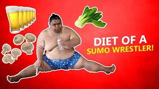 The Incredibly Interesting Diet Plan Of A Sumo Wrestler!