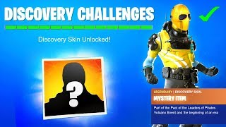 DISCOVERY Skin REVEALED! DISCOVERY Challenges REWARD UNLOCKED - SECRET SKIN SEASON 8 FORTNITE