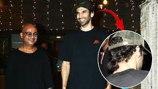 Aditya roy Kapoor Spotted In New Look At Hakim's Aalim Salon, Khar
