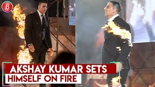 Akshay Kumar Sets Himself On Fire At The Launch Of Amazon Prime New Web Series