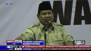 Prabowo Ajak Pendukung Cegah Pilpres dari Kecurangan