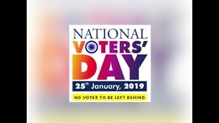 National Voters' Day 2019