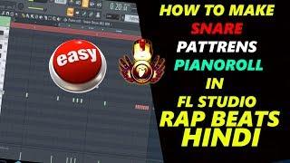 Simple Easy Snare Pattren Tricks in FL STUDIO | HINDI | make beats in hindi