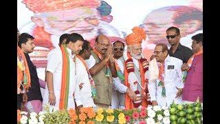 Dr Umesh Jhadav Congress Ke Bagi MLA Ne BJP Mein Shamoliyat A.Tv News 6-3-2019