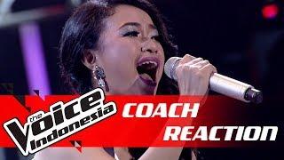 Penampilan Penuh Emosi, Ini Reaksi Dari Titi DJ   COACH REACTION   The Voice Indonesia GTV 2018