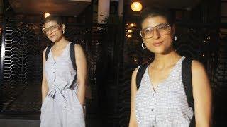 Ayushmann Khurranas Wife Tahira Kashyap Spotted At Soho House,Juhu